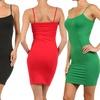 Women's Seamless Layering Cami Dresses (2-Pack)