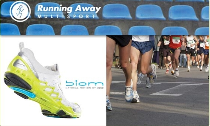 Running Away Multisport - Wicker Park: $30 for $60 on Shoes at Running Away