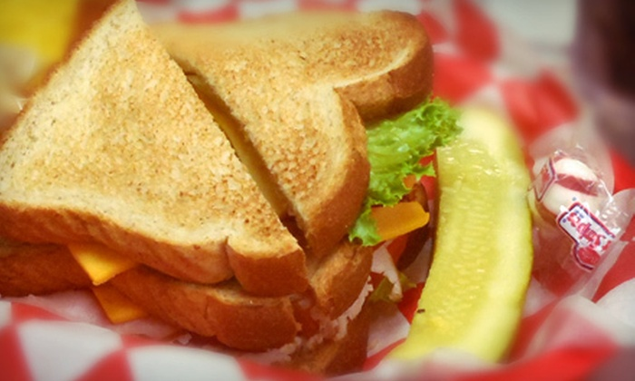 Kitchen's Deli - Ben Franklin Apothecary: Sandwich Meal with Chips, Drinks, and Ice Cream for Two or Four at Kitchen's Deli in Duncanville (Up to 53% Off)