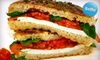 Milux Cafe - SoHo: $10 for $20 Worth of Sandwiches, Salads, and More at Milux Cafe, Plus 20% Off at Milan Luxury