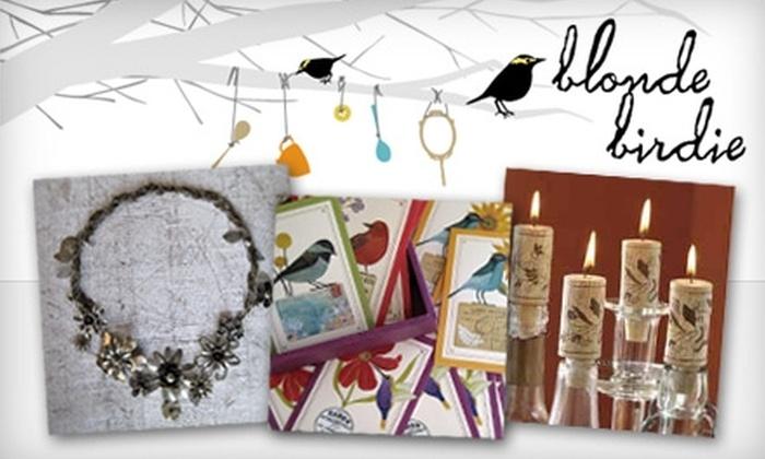 blonde birdie: $15 for $30 Worth of Jewelry, Accessories, and More at blonde birdie