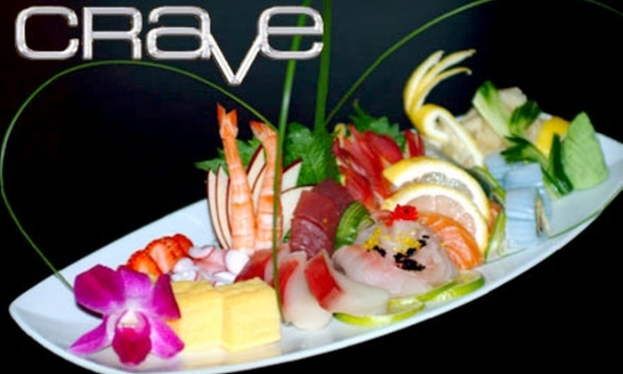 Crave Restaurant + Lounge - West Downtown Dearborn: $20 for $40 Worth of Fusion Fare and Drinks at Crave Restaurant + Lounge