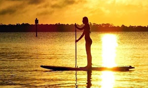 Paddling Paradise: Two-Hour Kayak or Stand-Up Paddleboard Rental for One or Two at Paddling Paradise (Up to 48% Off)