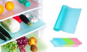 1, 2, 4 ou 8 tapis de réfrigérateur anti-éclaboussures