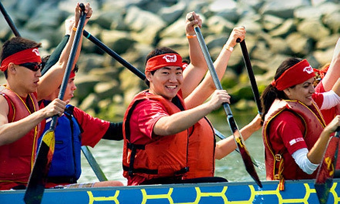 Seattle Sake Dragonboat Club  - Leschi: $40 for a Four-Week Introduction to Dragon Boating Course from Seattle Sake Dragonboat Club ($80 Value)