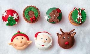 Sug'art cake design: Coffret 5, 10 ou 20 cupcakes classiques, ou 10 cupcakes Premium personnalisés Cake Desig dès 9€ chez Sug'art Cake Design