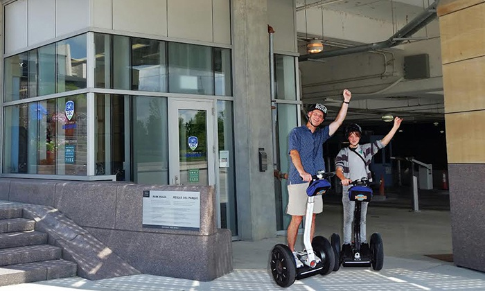 Cincinnati Bike Center: Segway Tour for One or Two from Cincinnati Bike Center (Up to 46% Off)