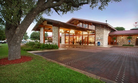 Stay at Inn of the Hills in Kerrville, TX. Dates into February.