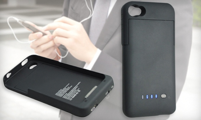CanDisTech.com: $29 for iPhone 4G/4S Battery Case with Shipping from CanDisTech.com ($79.98 Value)