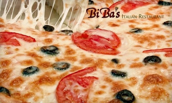 Biba's Italian Restaurant - Lawrenceville: $10 for $20 Worth of Italian Fare and Drinks at Biba's Italian Restaurant