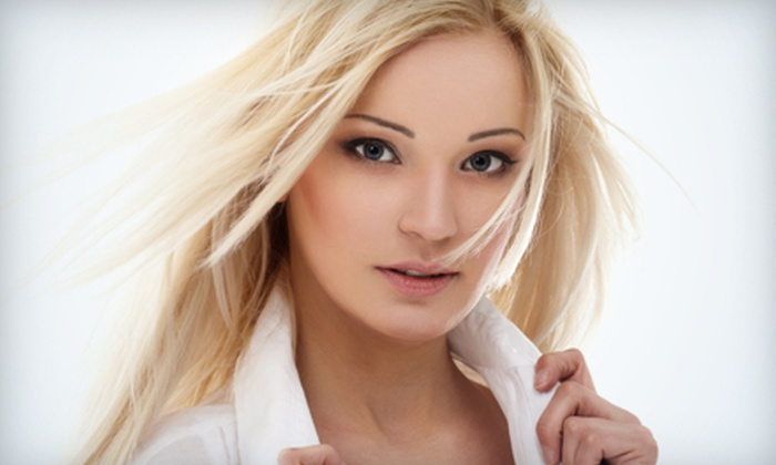 Salon Santa Cruz - Midtown South Central: $79 for a Director-Level Cut, Blow-Dry, Style, and Deep-Conditioning Treatment at Salon Santa Cruz (Up to $215 Value). $119 Half- and $139 Full-Highlight Options Available.