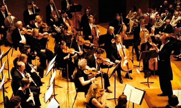 "Chicago Philharmonic Orchestra - Evanston: $32 for One Ticket to ""Going for Baroque"" ($65 Value) or $37 for One Ticket to ""Rachleff Conducts Brahms"" ($75 Value) Presented by the Chicago Philharmonic in Evanston"