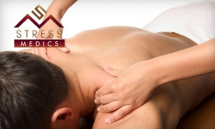 Stress Medics - Ramsgate Plaza: $59 for an 80-Minute Massage or an Exceptional Facial at Stress Medics