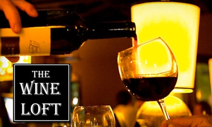The Wine Loft - Downtown Nashville: $50 For a Personal Wine Tasting for Two Plus One Menu Item and Dessert Selection at The Wine Loft