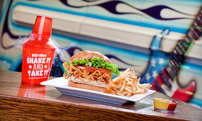 Rock & Rita's - Las Vegas: $22 for an American Barbecue Meal with Entrees and Drinks for Two at Rock & Rita's (Up to $57.48 Value)