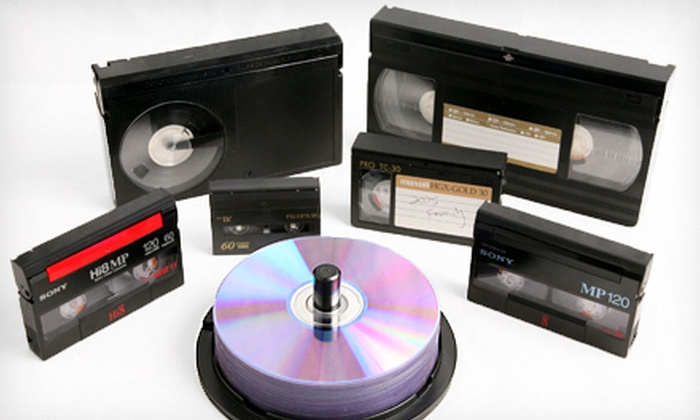 Moonlight Video Productions - Multiple Locations: $28 for Four Videotape-to-DVD Transfers at Moonlight Video Productions ($100 Value)