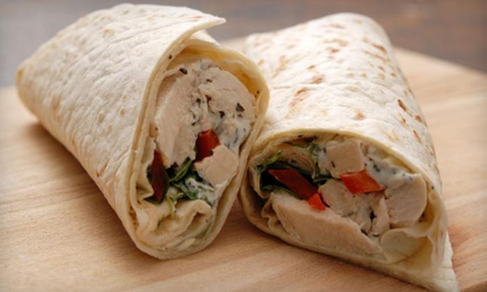 City Café & Caterers - Bethesda: $15 for Five Sandwiches at City Café & Caterers in Bethesda (Up to $31.25 Value)