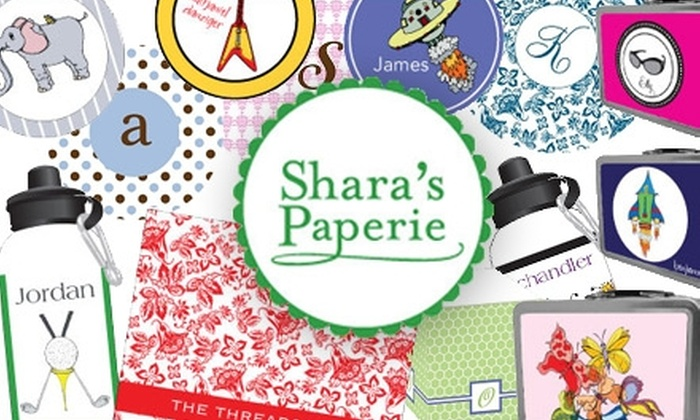 Shara's Paperie - Memphis: $15 for $30 Worth of Custom Stationery and Gifts from Shara's Paperie