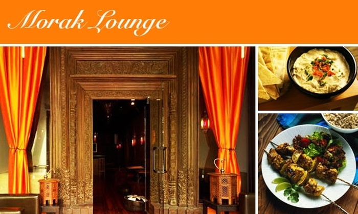 Morak Lounge - Mission Dolores: $25 for Hookah Service & Middle Eastern Delicacies at Morak