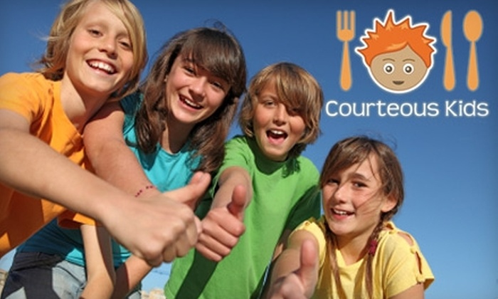 Courteous Kids - Jefferson: Etiquette Courses at Courteous Kids. Choose from Three Options.