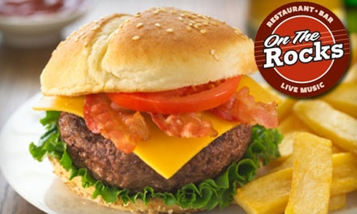 On The Rocks - Oliver: $20 for $50 Worth of Grill Fare at On The Rocks