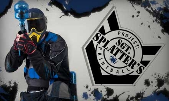 Sgt. Splatter's - Toronto (GTA): $20 for a Two-Person Paintball Package at Sgt. Splatter's (an $87.90 Value)