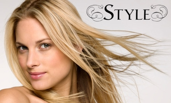 Style Salon - Central Indianapolis: $89 for a Brazilian Blowout at Style Salon ($250 Value)