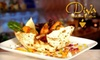 Half Off at Diva Indian Bistro