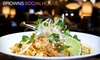 Browns Socialhouse - Multiple Locations: $15 for $30 Worth of Casual Dining and Drinks at Browns Socialhouse. Choose from Three Locations.