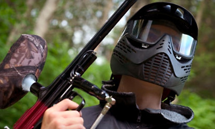 Hurricane Mountain Paintball - Nances Creek: $20 Paintball Outing with Upgraded Equipment Rental and Supplies at Hurricane Mountain Paintball in Jacksonville ($45 Value)