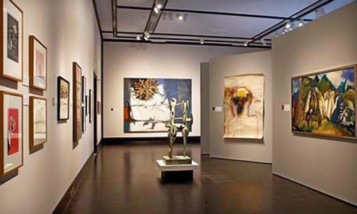 Jordan Schnitzer Museum of Art - University: Jordan Schnitzer Museum of Art Visit for Two or Four or One-Year Family Membership (Up to 55% Off)