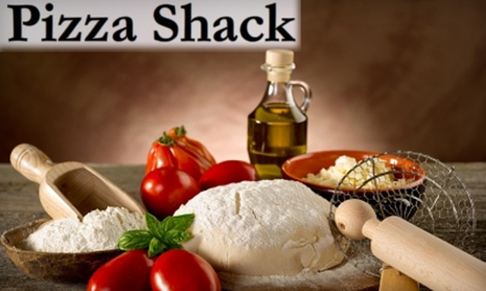 Pizza Shack - Lower East Side: $10 for $20 Worth of Pizza and More at Pizza Shack