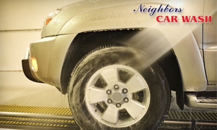 Neighbor's Car Wash - Bluffton: $11 for a Gold Car Wash ($23 Value) or $15 for a Monthly Pass ($30 Value) at Neighbors Car Wash in Bluffton