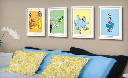 Seuss Prints: Unframed Limited-Edition Dr. Seuss Print - Seuss Prints in