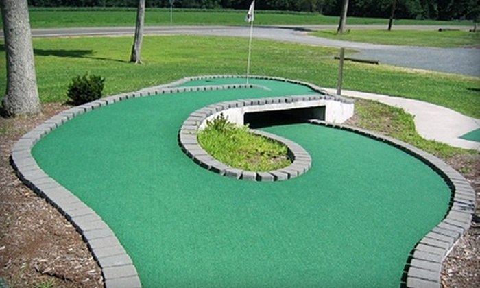202 Entertainment - Orange: $10 for One Round Mini Golf for Four at 202 Entertainment in Orange ($20 Value)