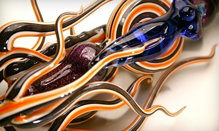 Revere Glass School - Santa Cruz / Monterey: Four-Hour Glass-Blowing Class at Revere Glass School in Berkeley. Three Options Available.
