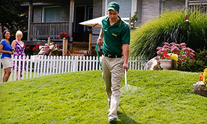 Weed Man - Multiple Locations: $49 for a Spring Tune-Up Lawn-Care Package with Fertilizer and Weed Control from Weed Man ($205 Value)