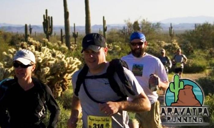 Aravaipa Running - Phoenix: $20 for a Mesquite Canyon Half-Marathon Trail Run from Aravaipa Running ($40 Value)