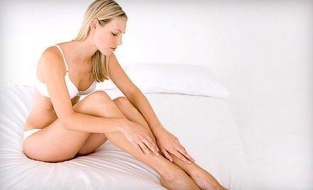 2 Full-Leg Spider-Vein-Removal Treatments (up to a $600 value) - NV Medical Spa in Barrie