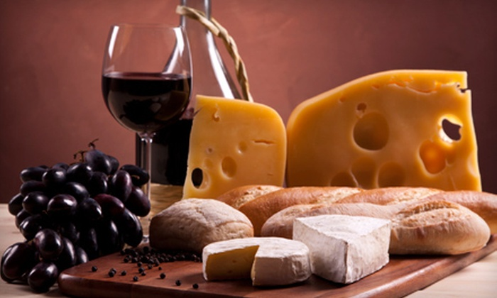 Taste at Oxbow - Cental Napa: Wine-Tasting Package for Two with Cheese Tasting, Bottle of Wine, and Optional Class at Taste at Oxbow (Up to 58% Off)