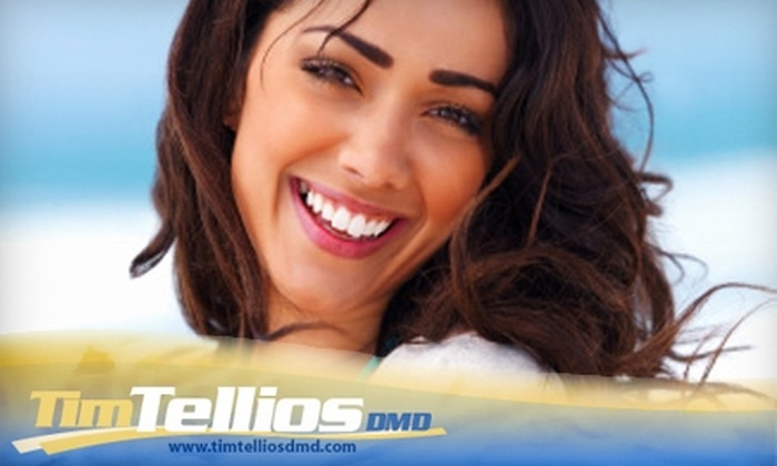 Dr. Tim Tellios - Northwest Tampa: $99 for Teeth Whitening or Invisible Braces Package (Up to $1,141 Value)