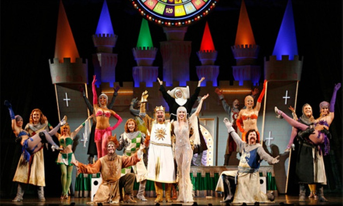 "Monty Python's Spamalot - Wallingford: One Ticket to Monty Python's ""Spamalot"" at Toyota Presents Oakdale Theatre in Wallingford. Two Options Available."