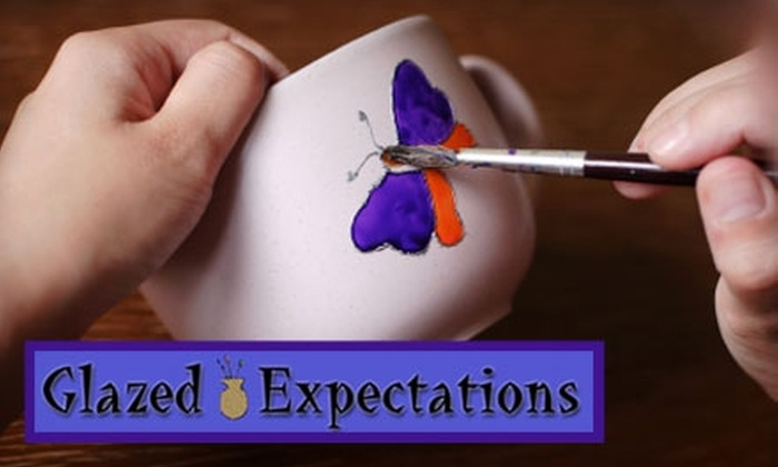 Glazed Expectations - Carrboro Central Business District: $12 for an After-School Ceramic Sculpture and Painting Class at Glazed Expectations in Carrboro ($25 Value)