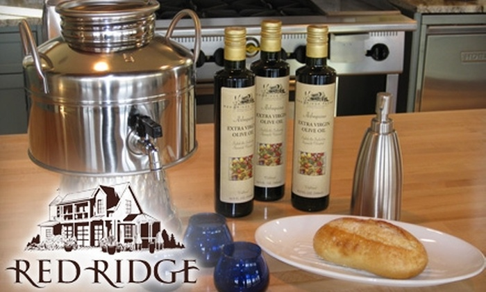Oregon Olive Mill - Newberg: $50 for an Olive-Oil Tasting and Hors D'oeuvres Pairing for Four at Oregon Olive Oil Mill in Dayton