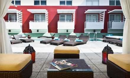 1-Night Stay for Two Adults in a Classic Queen Room Valid Sunday-Thursday - Clinton Hotel & Spa South Beach in South Beach