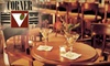 Corner Bar - Midtown: $15 for $30 Worth of Bar Fare and Drinks at Corner Bar in The Peabody Memphis Hotel