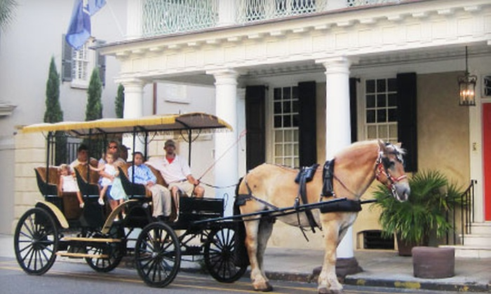 Olde Towne Carriage Company - Downtown: $20 for Carriage-Ride Tour for Two from Olde Towne Carriage Company (Up to $40 Value)