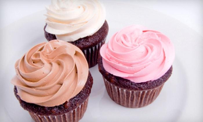 LuxSugar Bakery: $15 for Six Gourmet Cupcakes at LuxSugar Bakery