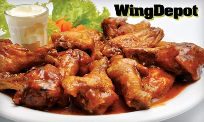 Wing Depot - Lake Lucina: $7 for $15 of Wings and More at Wing Depot