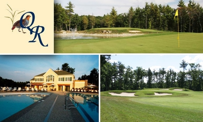Quail Ridge Country Club - Acton: $40 for 18 Holes at Quail Ridge Country Club, Includes Cart